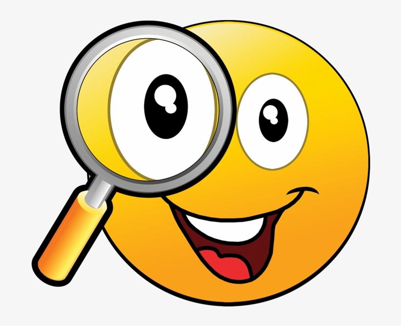 Emoji With Magnifying Glass