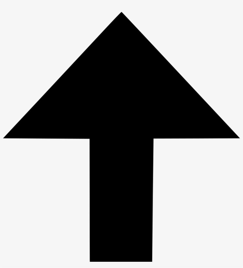 Arrow Top Up Vector Navigation Comments - Clip Art Arrow Up, transparent png #3823870
