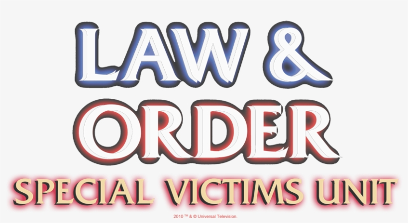 Law And Order - Law And Order Svu Logo, transparent png #3826773