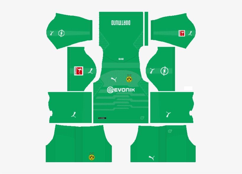 9e5df4563 Dream League Soccer Kits Borussia Dortmund Goalkeeper - Dream League Soccer  Kits Barcelona 2018