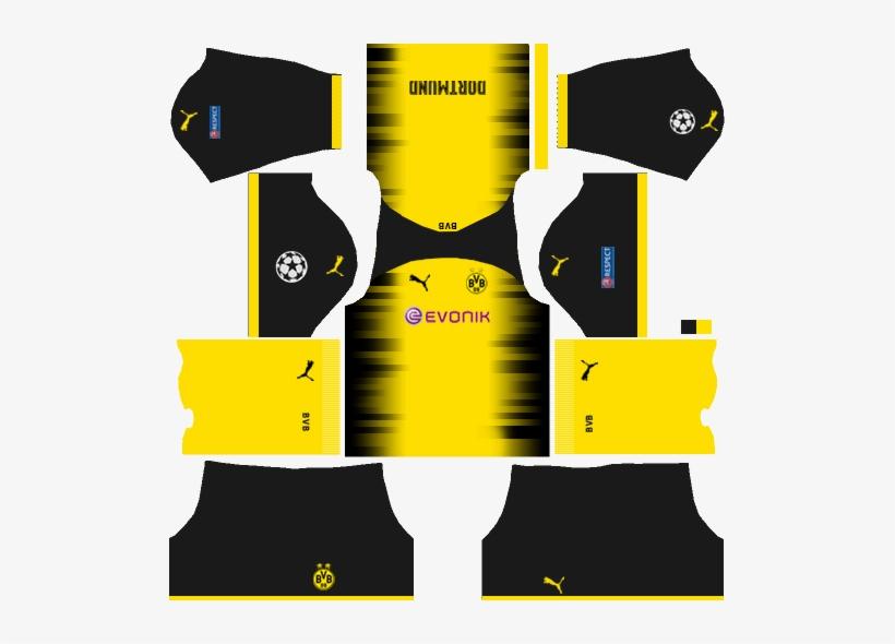 a6c19cefc Borussia Dortmund International Kits - Kit Dream League Soccer 2018 ...