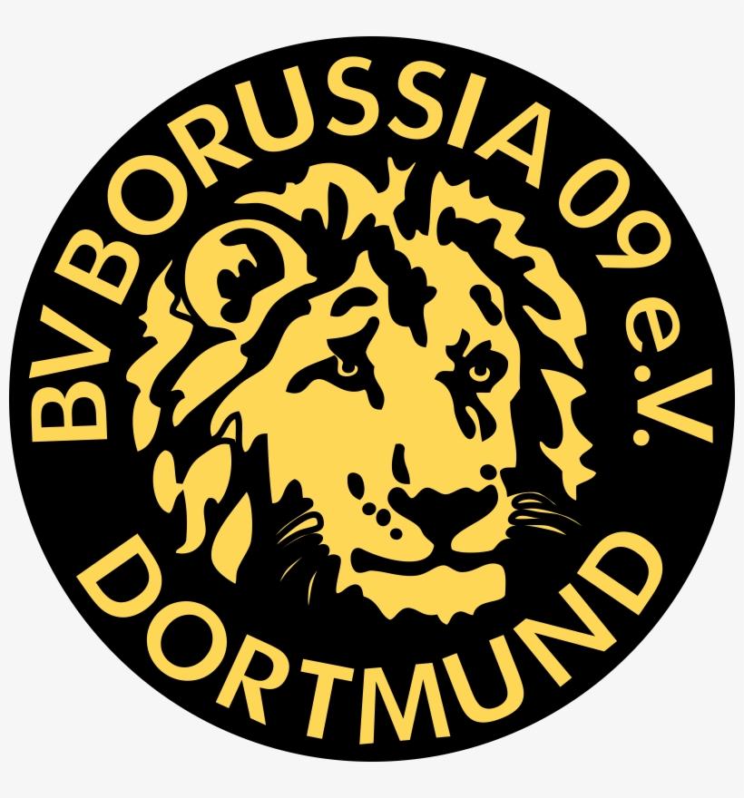 Borussia Dortmund Ger Borussia Dortmund Old Logo Free Transparent Png Download Pngkey