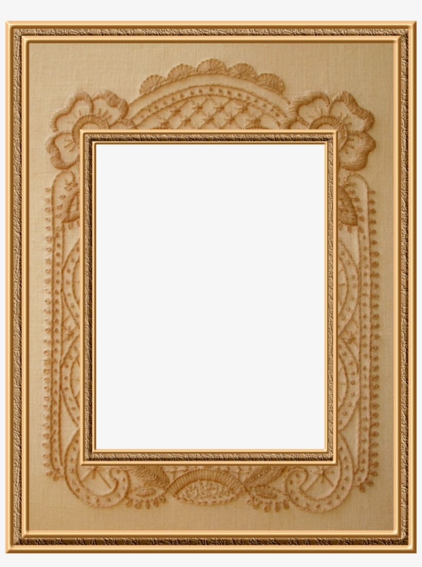 Pin Oval Mirror Gold French Style On Pinterest - Gold Picture Frame, transparent png #3828387