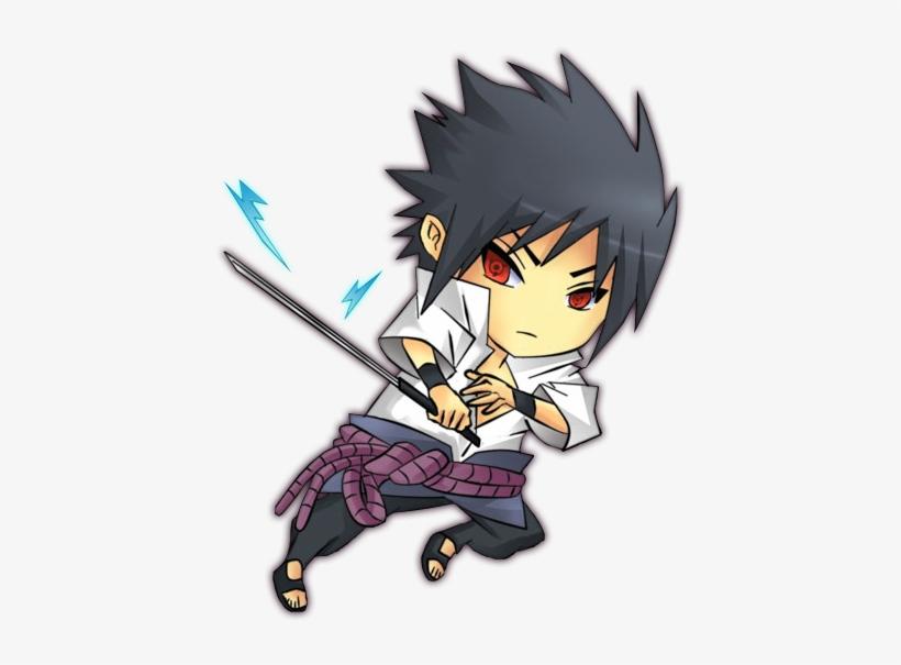 Sasuke Madara Escolha Seu Jogador - Naruto Vs Sasuke Chibi, transparent png #3828831