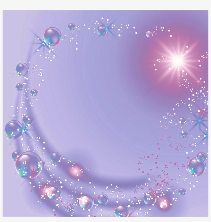 Bubbles Lights Glow Magic Background Ftestickers Bokeh - Halloween