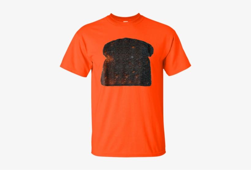 Bread Toast Burnt Shirt - Alien Santa Claus Hat Christmas Logo Tall T-shirt, transparent png #3838011