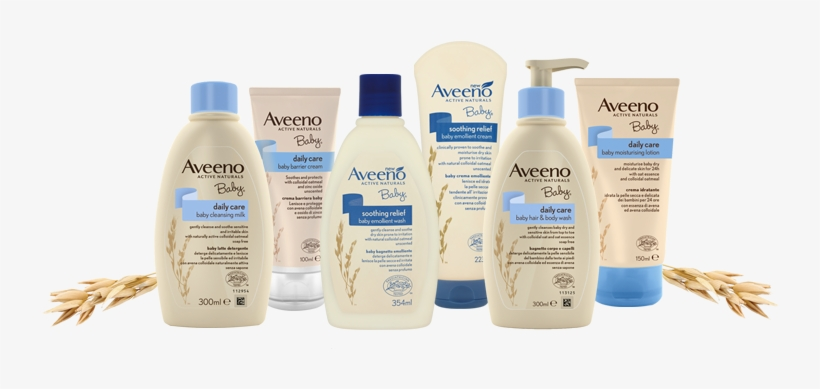 Picture Of Daily Moisture Range Banner - Aveeno Baby Soothing Relief Baby Emollient Cream -, transparent png #3838106