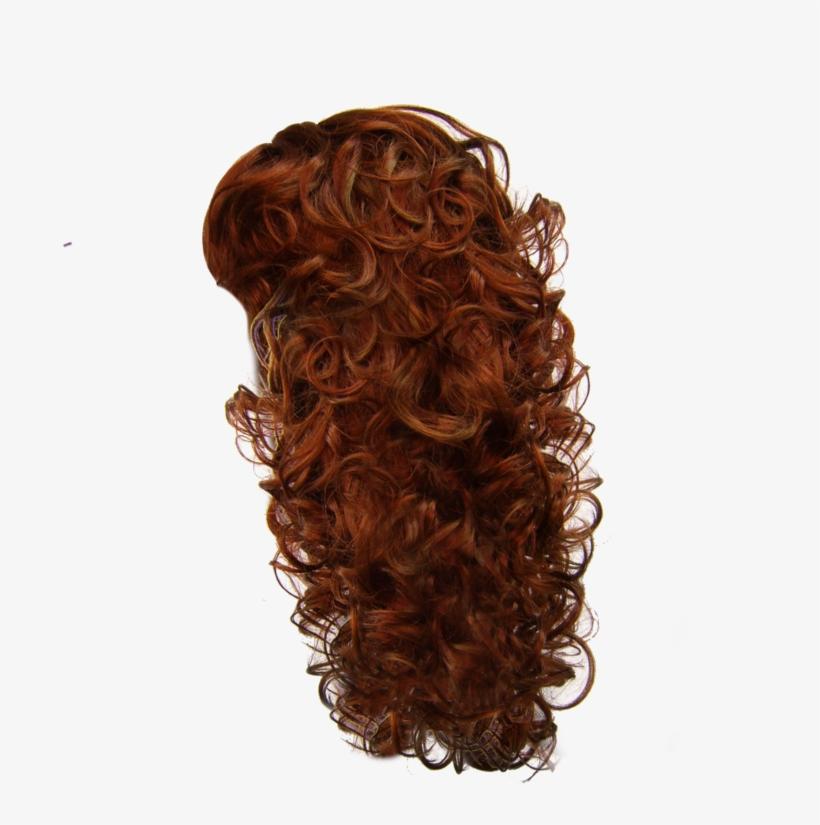 Visit - Curly Brown Hair Png, transparent png #3839799