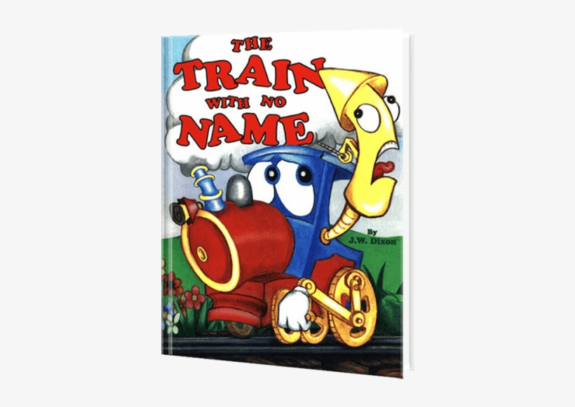 Train With No Name - Personalized Book From Create, transparent png #3841839