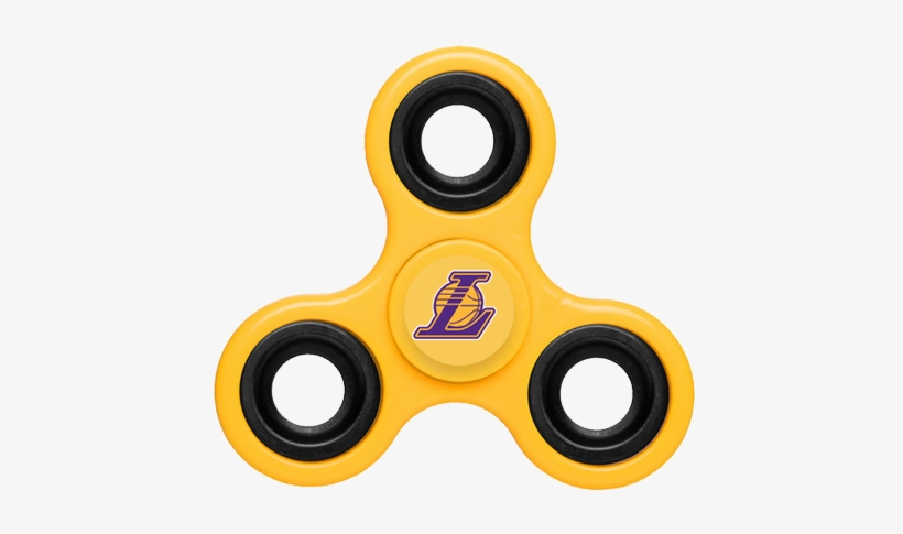 Los Angeles Lakers Fidget Spinner - Los Angeles Lakers, transparent png #3842693