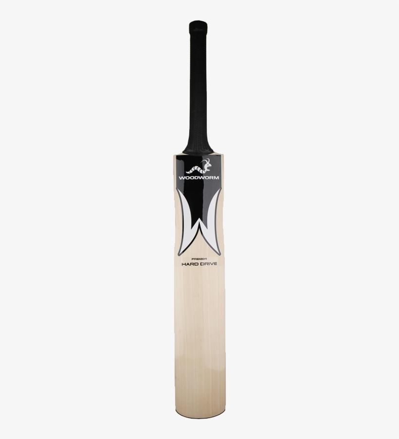 Woodworm Hard Drive Premier Mens Cricket Bat - Woodworm Hard Drive Premier Junior Cricket Bat, transparent png #3848004