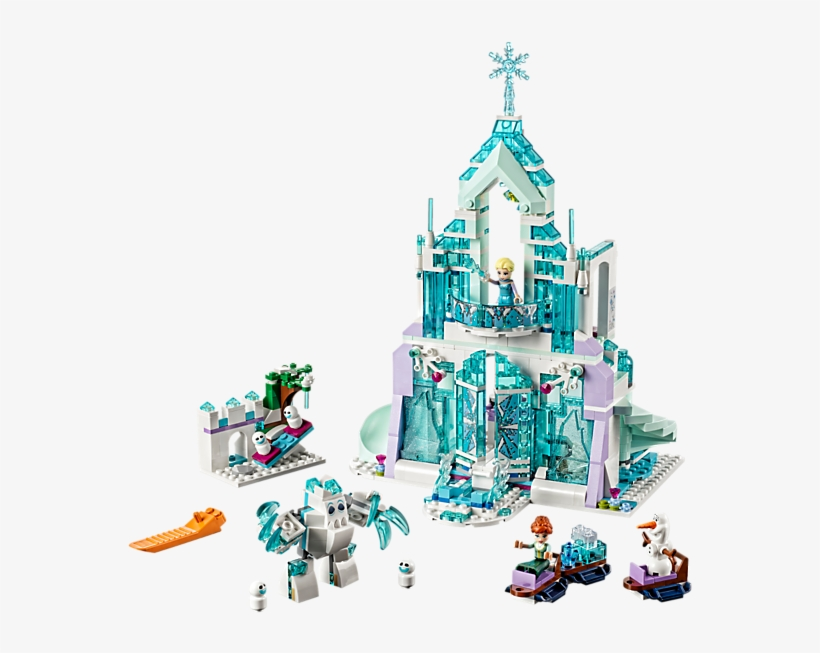 Elsa's Magical Ice Palace - Lego Frozen Elsa's Magical Ice Palace 41148, transparent png #3848092