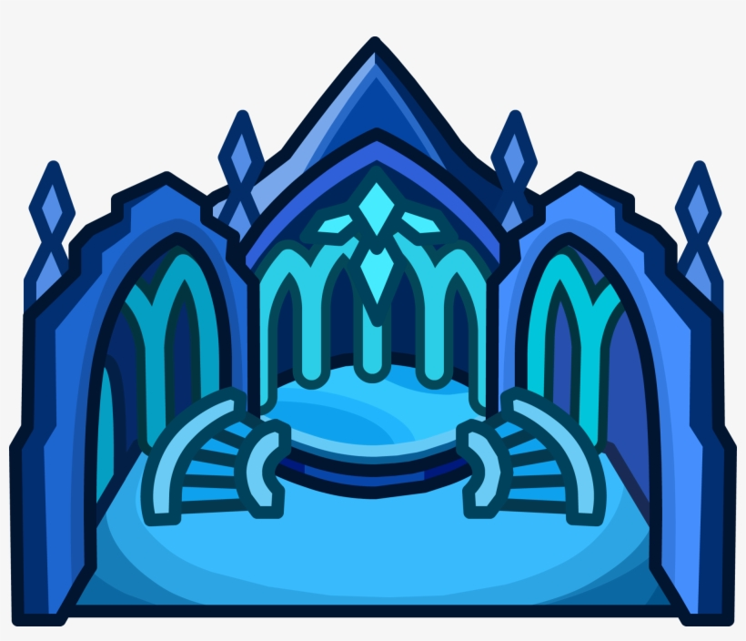 Ice Palace Igloo - Club Penguin Ice Palace Igloo - Free