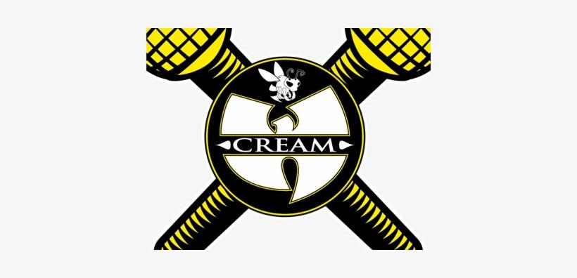 Wu Tang Clan Symbol Png For Kids - Wu Tang Clan Cream Logo, transparent png #3849396