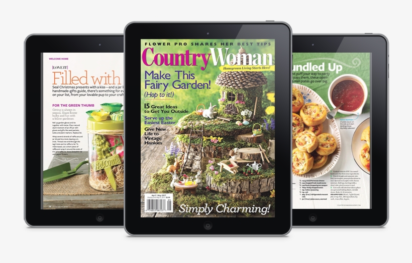 Country Woman Celebrates The Spirited Group Of Women - Magazine.store Country Woman (7 Issues), transparent png #3849812
