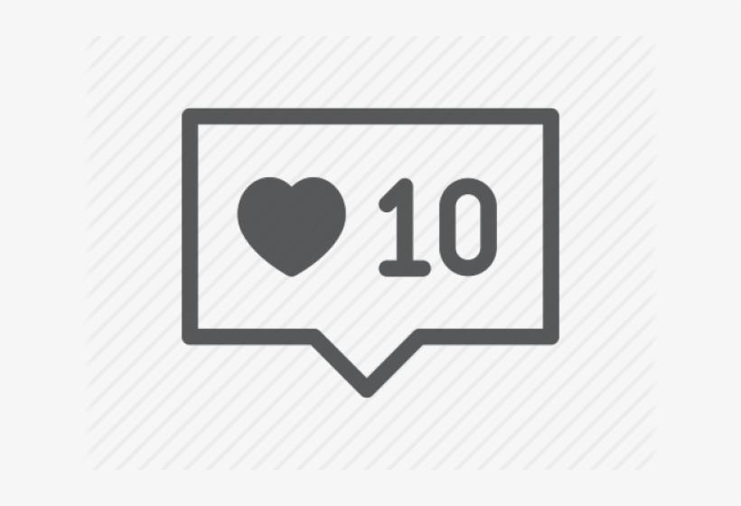 Instagram Heart Png Transparent Images - Instagram Heart Icon Transparent, transparent png #3851342