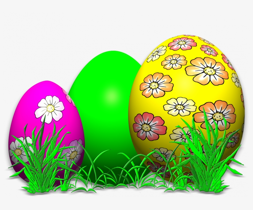 Easter Background Wallpaper Free Easter Wallpapers - Easter Coloring Book: Easter Eggs Jumbo Coloring Book, transparent png #3852586