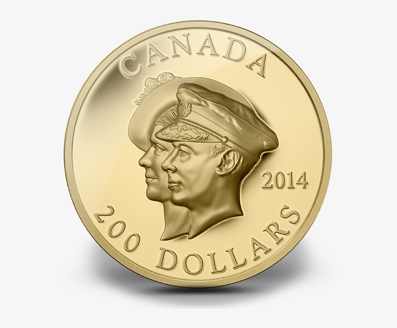 Canada 2014 75th Anniversary Of The First Royal Visit - 2014 $25 75th Anniversary Of The First Royal Visit, transparent png #3853180