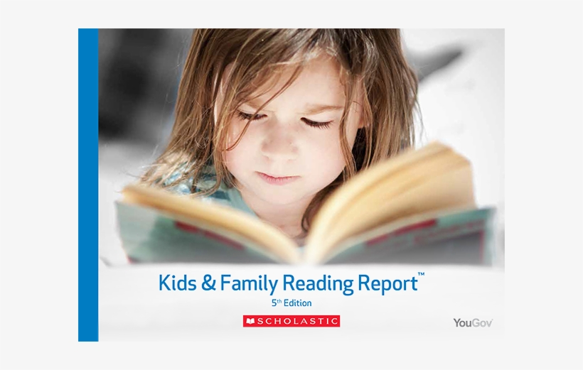 Earlier This Month, Scholastic Published The 5th Edition - Kids And Family Reading Report, transparent png #3855580