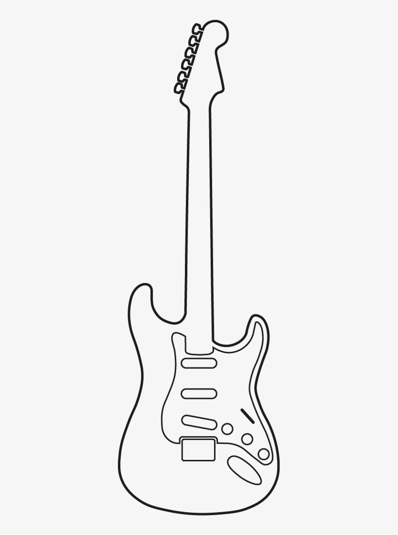 Рисунки для срисовки рок гитара
