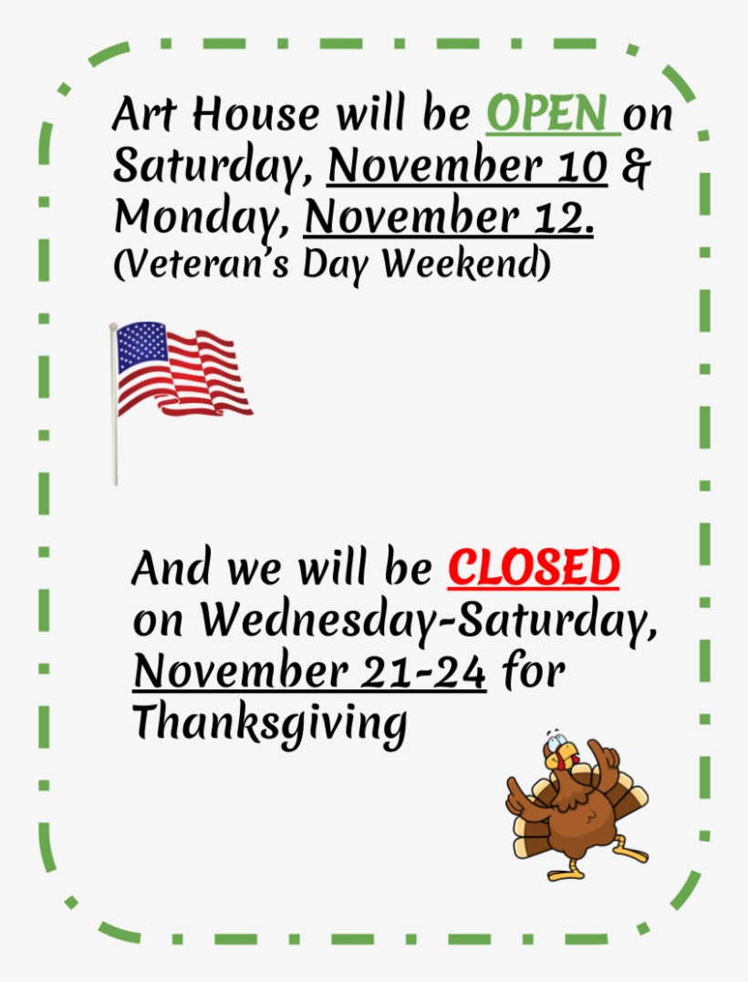 Open For Veteran's Day Weekend & Closed For Thanksgiving - Flag Of The United States, transparent png #3857135