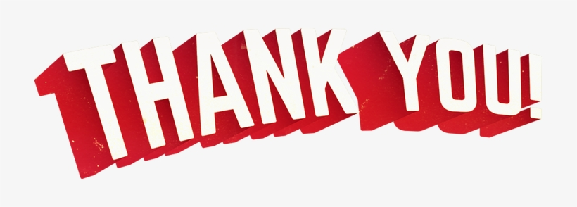 Thank You Png Thank You Cool Font Free Transparent Png