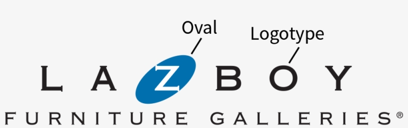 The La Z Boy Furniture Galleries Logo Consists Of Two La Z Boy