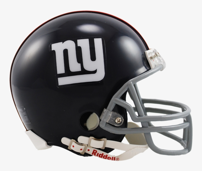 New York Giants 1961 To 1974 Riddell Mini Replica Throwback - New York Giants Mini Replica Throwback Football Helmet, transparent png #3862324