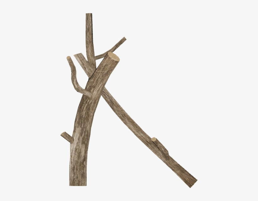 Dead Tree Log 2 - Zt2 Logs, transparent png #3862428
