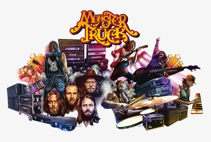 Monster Truck Album Cover - Monster Truck Band 2018, transparent png #3863617