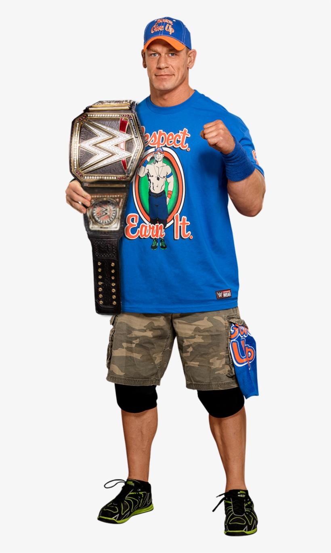 John Cena Wwe Champion 2017 V3 By Lunaticdesigner - John Cena Wwe Champion 2017, transparent png #3864067