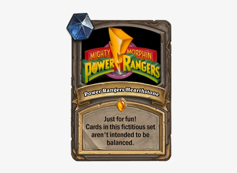 Power Rangers Hearthstone Set Not All Cards Are On - Hearthstone Happy Birthday, transparent png #3864956