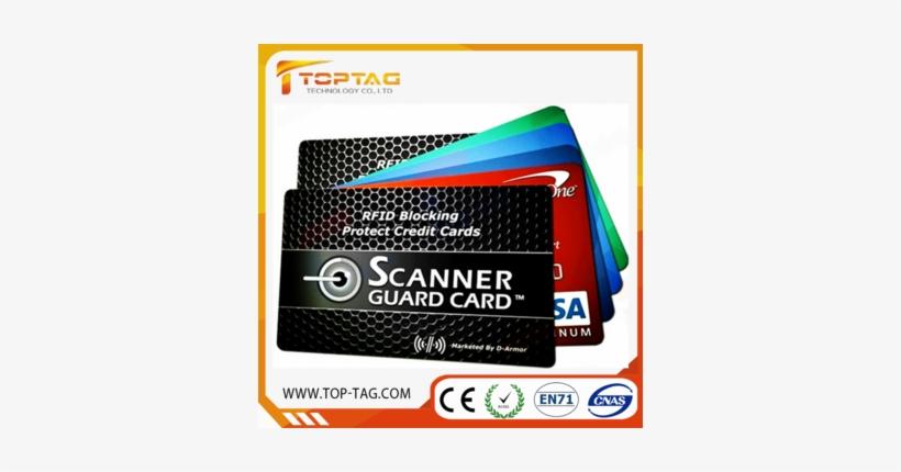 Rfid Credit Card Blocker / Signal Blocking Rfid Card - D-armor Rfid Wallet Blocking Card Protector, 2-cards, transparent png #3866405