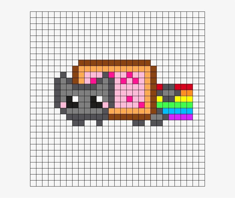 Nyan Cat Crochet Blanket by YukisTwin1212 on DeviantArt | 690x820