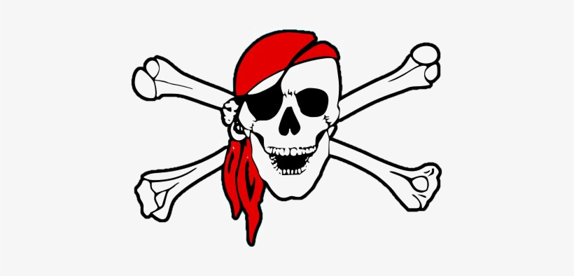 Pirate Logo Transparent Background Png Pirate Skull And Bones Png
