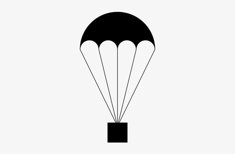 Pin Parachutes Clipart - Clipart Parachute, transparent png #3870501