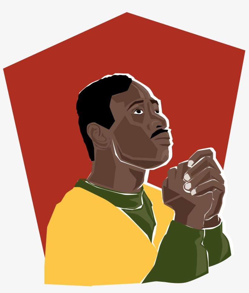 African American Man Praying Clip Art - African Praying ...