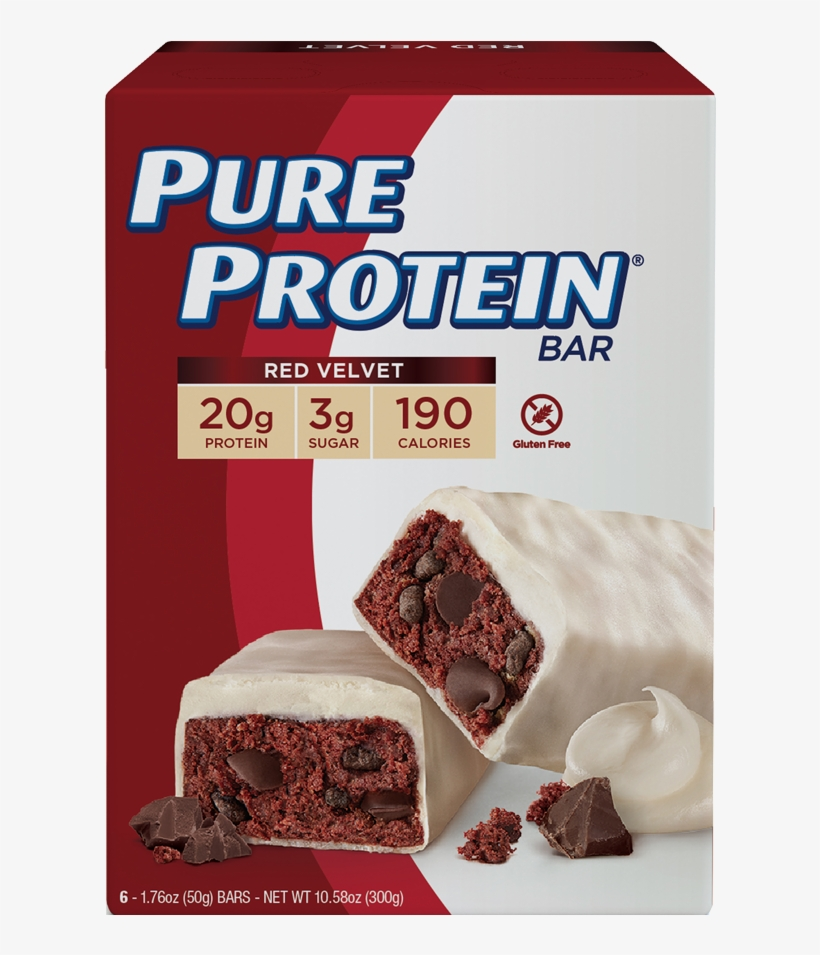 At A Glance - Pure Protein Red Velvet, transparent png #3875155