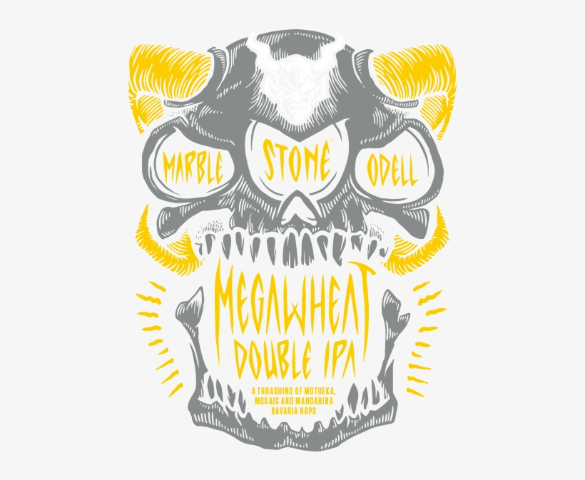 Marble / Odell / Stone Megawheat - Stone Megawheat Double Ipa, transparent png #3875540