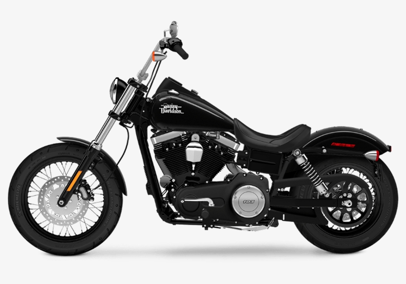 2015 Harley Davidson Dyna Street Bob® Los Angeles - 2017 Harley Davidson Street Bob, transparent png #3877978
