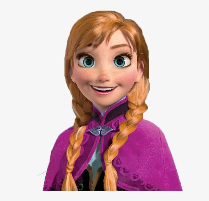 Disney- Frozen Portugal E Brasil - Anna Frozen, transparent png #3879943