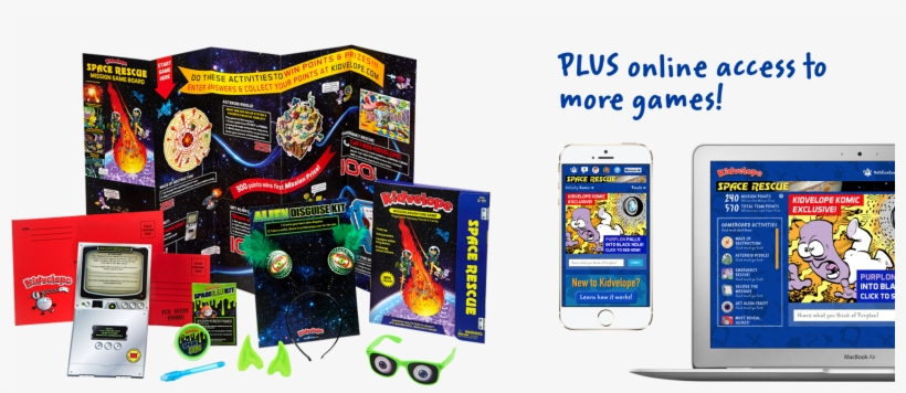 Each Themed Activity Kit Is Loaded With Goodies That - Video Game, transparent png #3880759