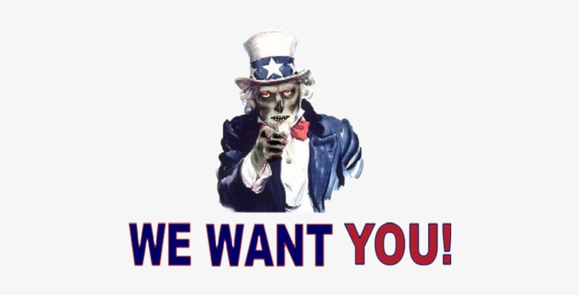 Uncle Sam I Want You Png Download - We Want You Flyer, transparent png #3881238