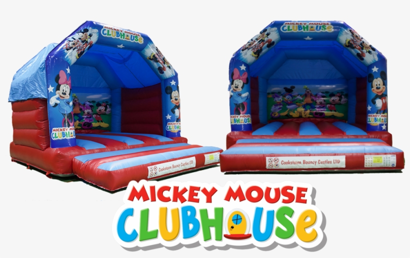 Clubhouse Mickey Bouncy Castle - Mickey Mouse Clubhouse, transparent png #3881740