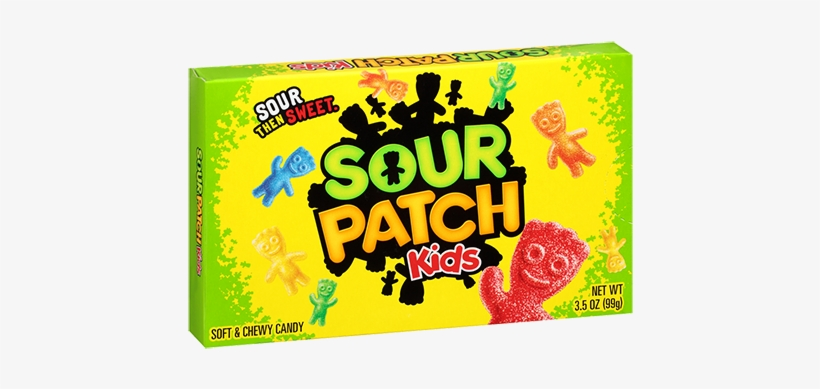 Sour Patch Kids Soft & Chewy Candy - Sour Patch Kid Candy, transparent png #3882316