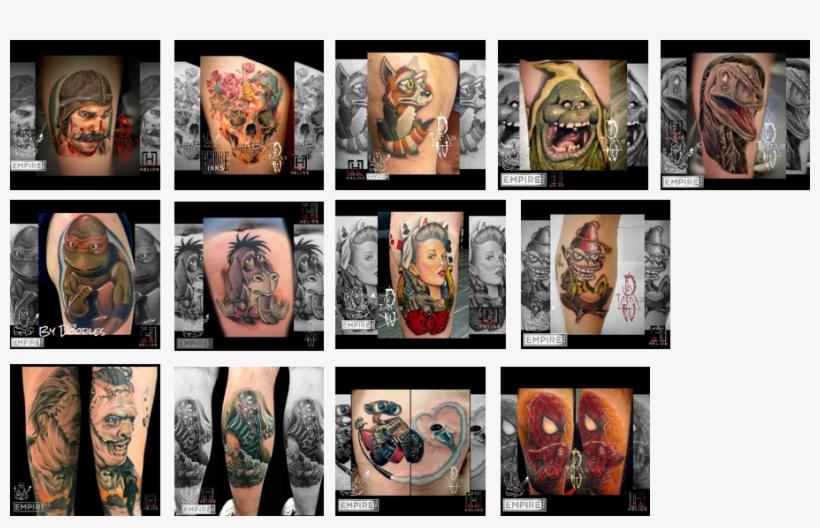 I Enjoy All Types Of Tattoos However I Mainly Focus - Tattoo, transparent png #3885785