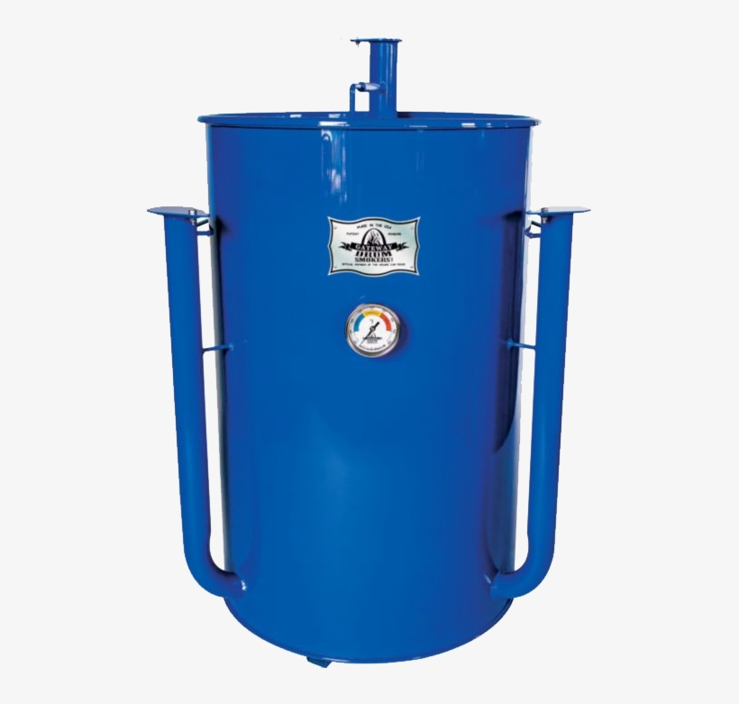 Gateway Drum Smoker 55 Gallon - Gateway Drum Smoker Charcoal Smoker Finish: Royal Blue, transparent png #3888348