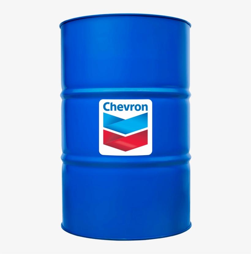 Chevron Gst Oil 32 | 55 Gallon Drum, transparent png #3888563