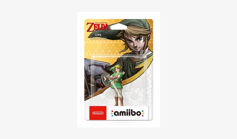 The Legend Of Zelda Link, Twilight Princess - Legend Of Zelda Twilight Princess Link Amiibo, transparent png #3890890