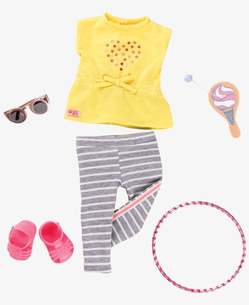 //s3 Ca Central - Our Generation Fashion Outfit - Playtime, transparent png #3890910